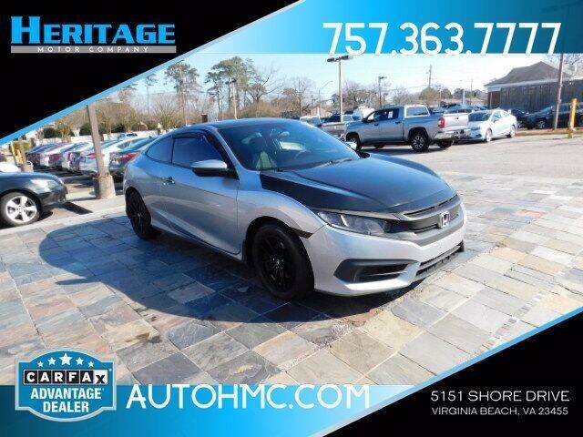 2016 Honda Civic for sale at Heritage Motor Company in Virginia Beach VA