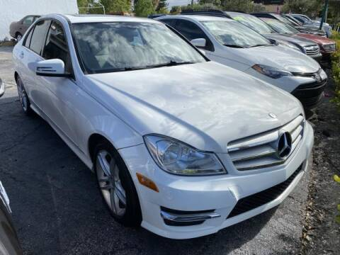 2013 Mercedes-Benz C-Class for sale at Mike Auto Sales in West Palm Beach FL