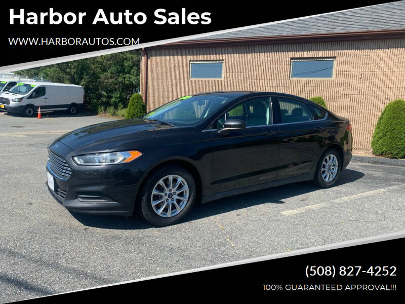 2015 Ford Fusion for sale at Harbor Auto Sales in Hyannis MA