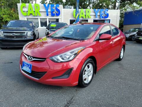 2015 Hyundai Elantra for sale at Car Yes Auto Sales in Baltimore MD