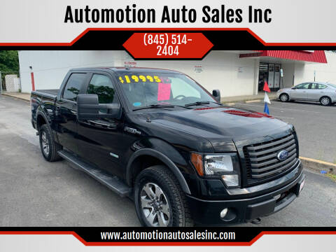 2012 Ford F-150 for sale at Automotion Auto Sales Inc in Kingston NY