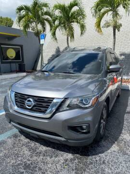 2017 Nissan Pathfinder for sale at YOUR BEST DRIVE in Oakland Park FL