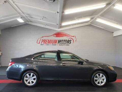 2009 Lexus ES 350 for sale at Premium Motors in Villa Park IL