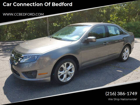 2012 Ford Fusion for sale at Car Connection of Bedford in Bedford OH