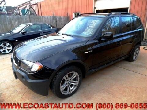 2005 BMW X3 for sale at East Coast Auto Source Inc. in Bedford VA