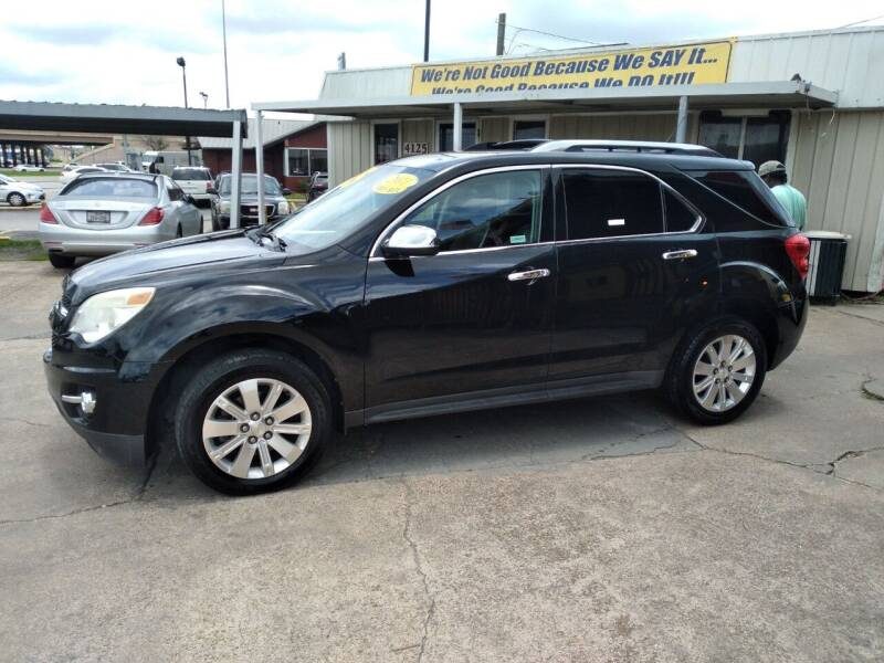 2011 Chevrolet Equinox for sale at Taylor Trading Co in Beaumont TX