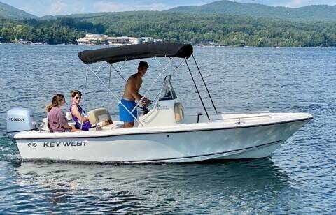 2014 Key West 176 Center Console for sale at R & R Motors in Queensbury NY