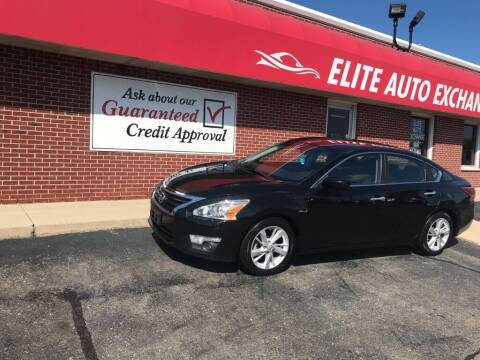 2015 Nissan Altima for sale at Elite Auto Exchange in Dayton OH