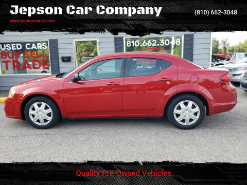 2014 Dodge Avenger for sale at Jepson Car Company in Saint Clair MI