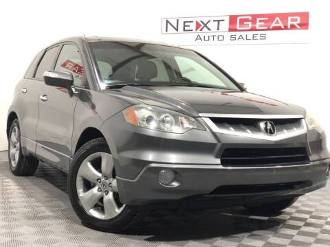 2009 Acura RDX for sale at Next Gear Auto Sales in Westfield IN
