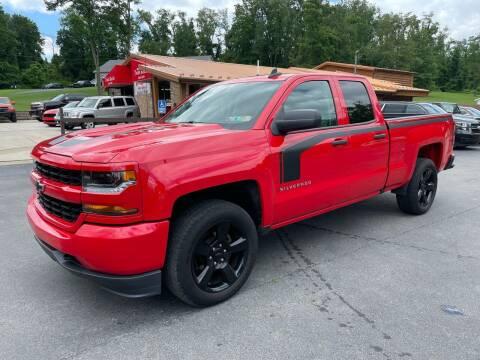 2017 Chevrolet Silverado 1500 for sale at Twin Rocks Auto Sales LLC in Uniontown PA