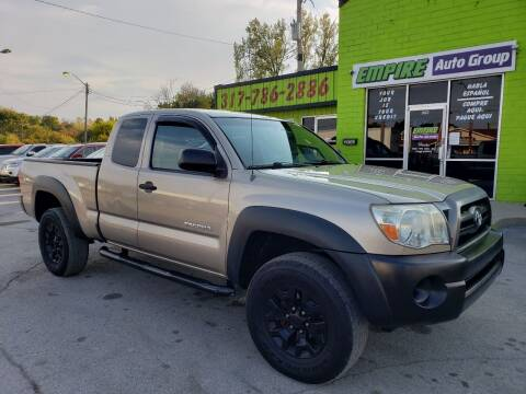 2007 Toyota Tacoma for sale at Empire Auto Group in Indianapolis IN