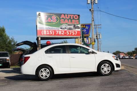 2012 Chevrolet Sonic for sale at E & S Auto Sales in Crest Hill IL