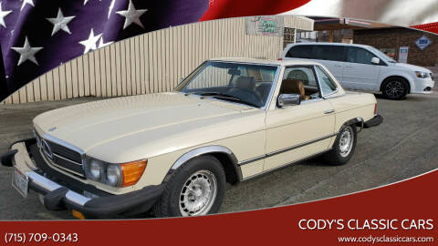 1980 Mercedes-Benz 450 SL for sale at Cody's Classic Cars in Stanley WI