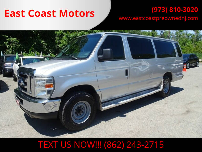 2010 Ford E-Series Wagon for sale at East Coast Motors in Lake Hopatcong NJ