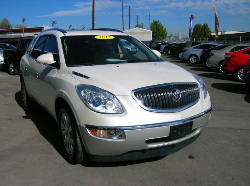 2012 Buick Enclave for sale at Avalanche Auto Sales in Denver CO