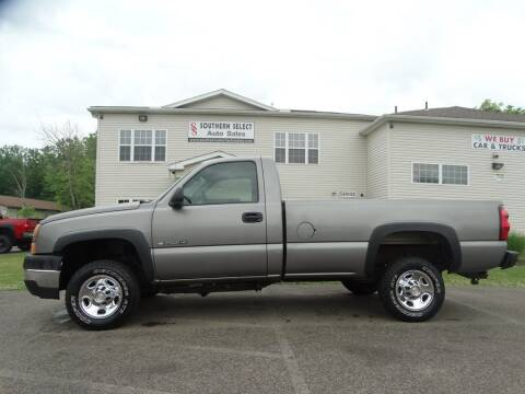 2007 Chevrolet Silverado 2500HD Classic for sale at SOUTHERN SELECT AUTO SALES in Medina OH