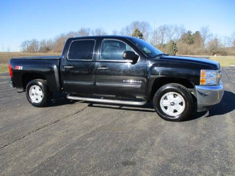 2012 Chevrolet Silverado 1500 for sale at Crossroads Used Cars Inc. in Tremont IL
