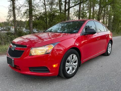 2014 Chevrolet Cruze for sale at Next Autogas Auto Sales in Jacksonville FL