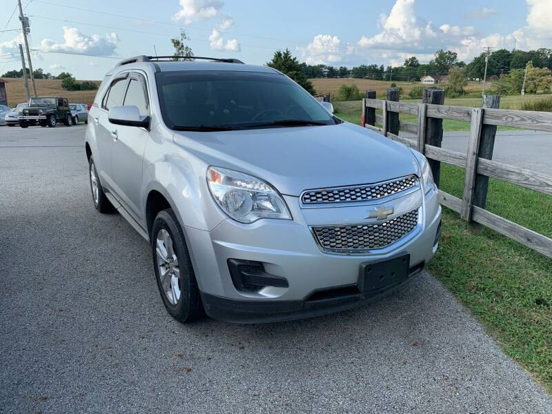 2011 Chevrolet Equinox for sale at Todd Nolley Auto Sales in Campbellsville KY