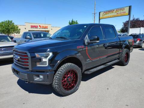 2017 Ford F-150 for sale at Canyon Auto Sales in Orem UT