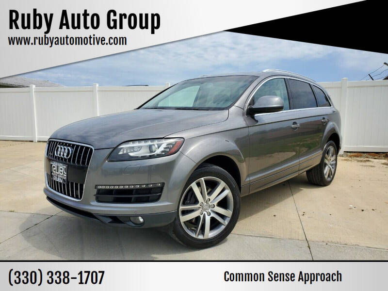 2013 Audi Q7 for sale at Ruby Auto Group in Hudson OH