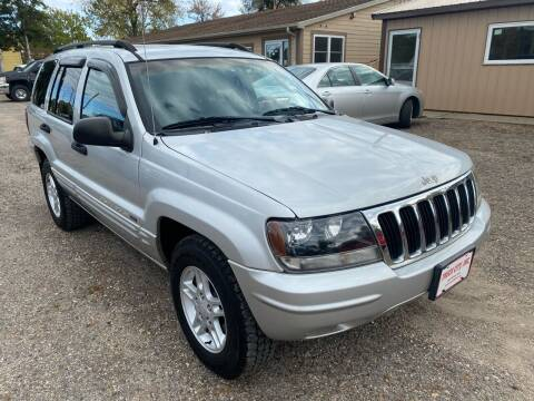 2002 Jeep Grand Cherokee for sale at Truck City Inc in Des Moines IA