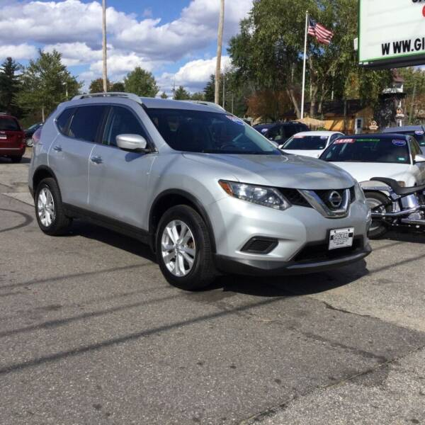 2014 Nissan Rogue for sale at Giguere Auto Wholesalers in Tilton NH