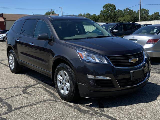 2017 Chevrolet Traverse for sale at Miller Auto Sales in Saint Louis MI