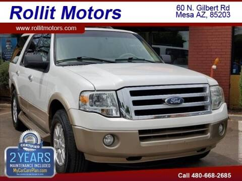2011 Ford Expedition for sale at Rollit Motors in Mesa AZ