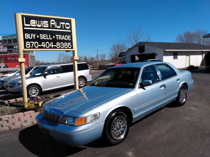 1999 Mercury Grand Marquis for sale at LEWIS AUTO in Mountain Home AR