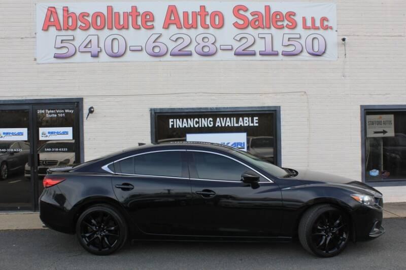 2014 Mazda MAZDA6 for sale at Absolute Auto Sales in Fredericksburg VA