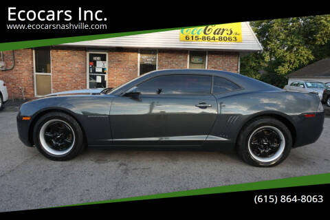 2013 Chevrolet Camaro for sale at Ecocars Inc. in Nashville TN