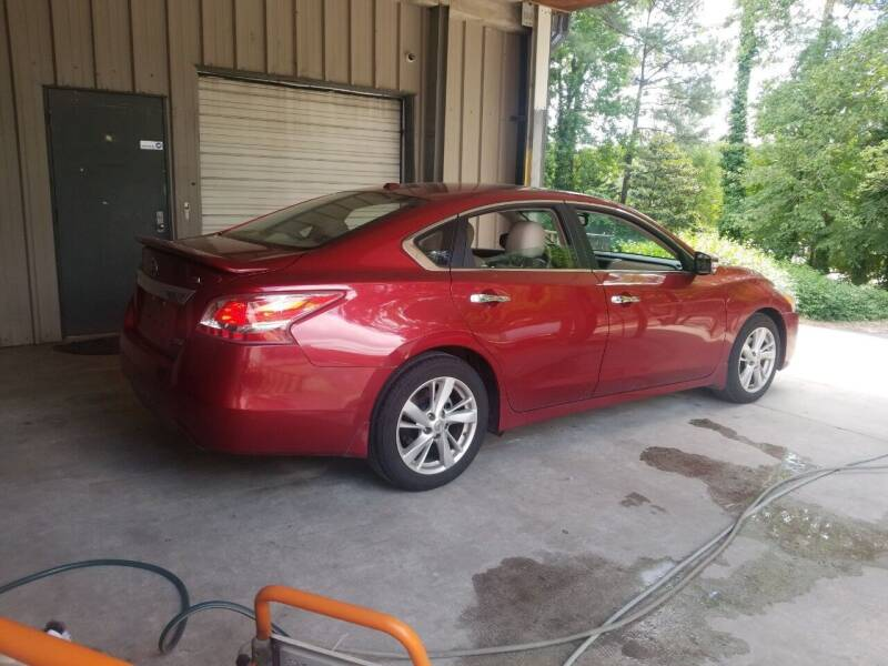 2013 Nissan Altima for sale at European Performance in Raleigh NC