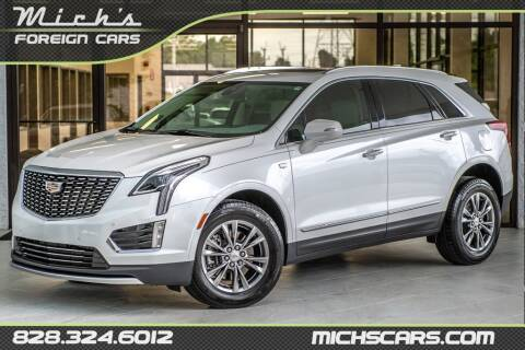 2021 Cadillac XT5 for sale at Mich's Foreign Cars in Hickory NC