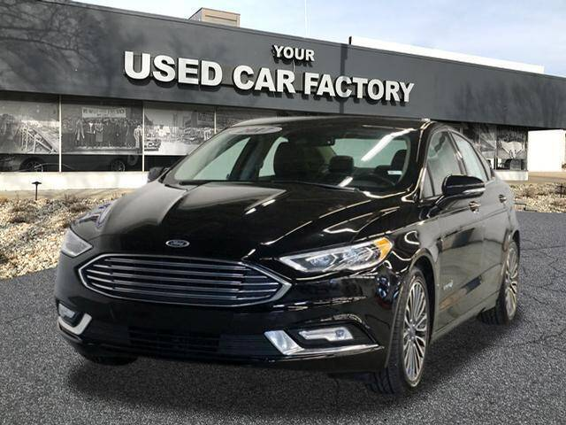 2017 Ford Fusion Hybrid for sale at JOELSCARZ.COM in Flushing MI