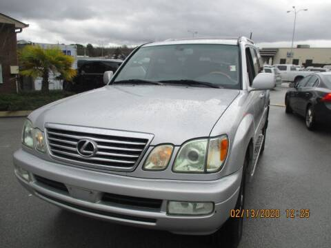 2006 Lexus LX 470 for sale at Z Motors in Chattanooga TN
