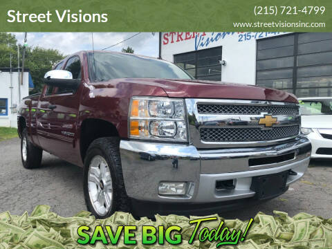 2013 Chevrolet Silverado 1500 for sale at Street Visions in Telford PA