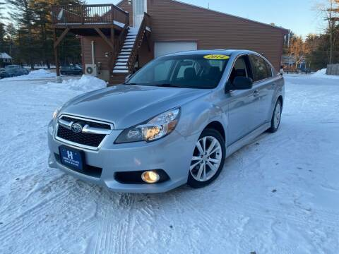 2014 Subaru Legacy for sale at Hornes Auto Sales LLC in Epping NH