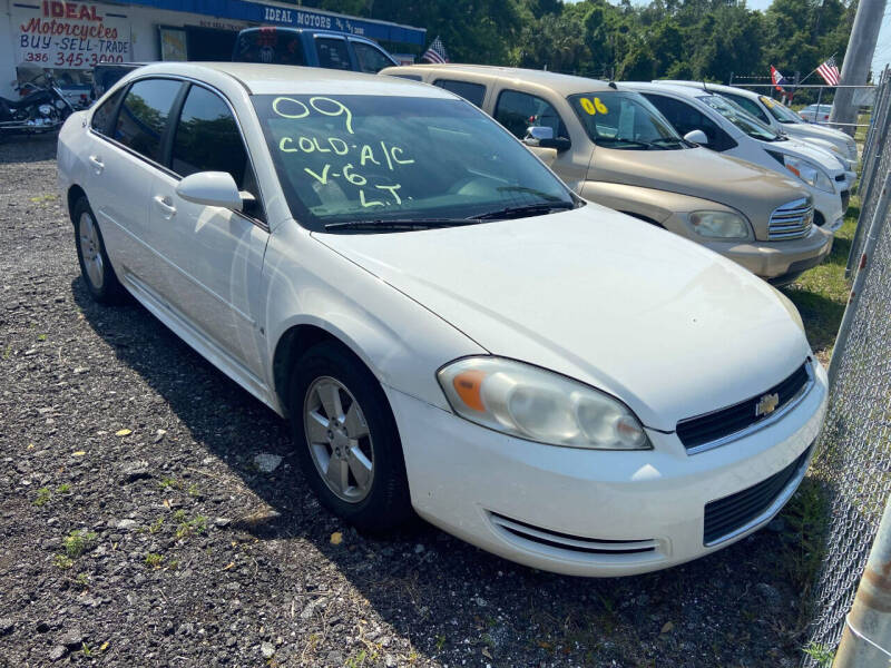 2009 Chevrolet Impala for sale at Ideal Motors in Oak Hill FL