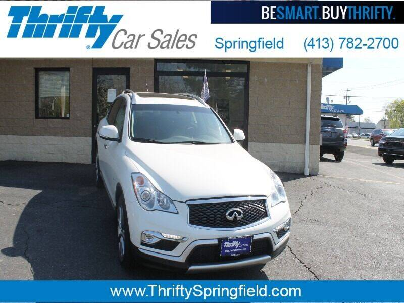 2017 Infiniti QX50 for sale at Thrifty Car Sales Springfield in Springfield MA