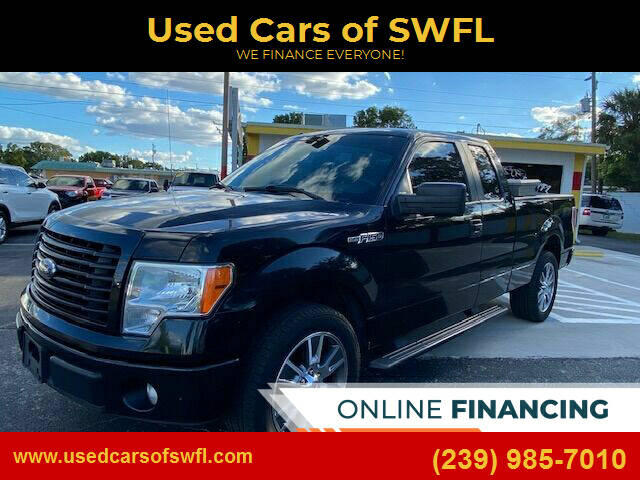 2014 Ford F-150 for sale at Used Cars of SWFL in Fort Myers FL