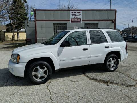 2008 Chevrolet TrailBlazer for sale at Richland Motors in Cleveland OH