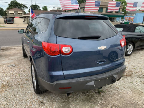 2012 Chevrolet Traverse for sale at CHEAPIE AUTO SALES INC in Metairie LA