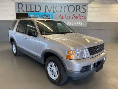 2002 Ford Explorer for sale at REED MOTORS LLC in Phoenix AZ