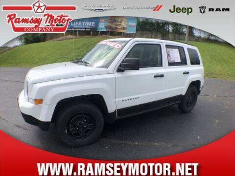 2016 Jeep Patriot for sale at RAMSEY MOTOR CO in Harrison AR