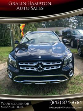 2018 Mercedes-Benz GLA for sale at Gralin Hampton Auto Sales in Summerville SC
