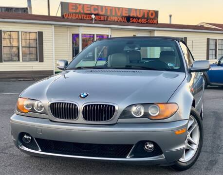 2004 BMW 3 Series for sale at Executive Auto in Winchester VA