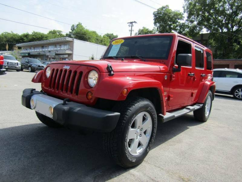 2011 Jeep Wrangler Unlimited for sale at A & A IMPORTS OF TN in Madison TN