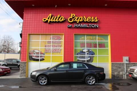 2009 Chevrolet Malibu for sale at AUTO EXPRESS OF HAMILTON LLC in Hamilton OH